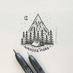 WANDER ON… #art #illustration