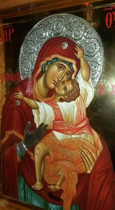Religious Icons, Religious Art, Holy Family, Blessed Mother, Madonna, Holi, Christianity, First Love, Saints