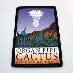 Official Organ Pipe Cactus National Monument Souvenir Patch Arizona Park