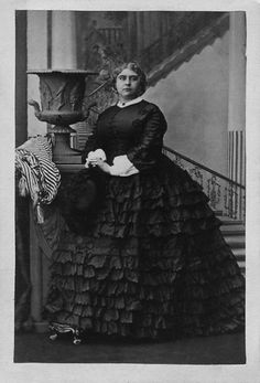 """1860 (8 October) Princess Mary Adelaide """" Big Mary"""" of Cambridge, later Princess of Teck 