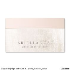 Elegant Day Spa and Salon Blush Pink White Marble Double-Sided Standard Business Cards. Artwork designed by Maura Reed (Simple Elegant Business Card) Spa Business Cards, Elegant Business Cards, Business Logo, Business Card Design, Makeup Artist Logo, Makeup Artist Business Cards, Makeup Artists, Branding Design, Logo Design