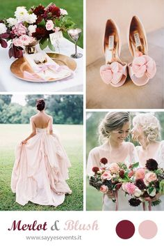 Holidays and Events: MERLOT + BLUSH WEDDING http://sayyesevents.it/2014...