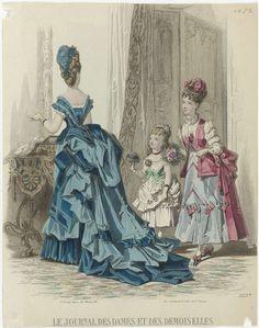 Le Journal des Dames et des Demoiselles, 1873, No. 1129b, J. Bonnard, Ad. Goubaud et Fils, A. Leroy, 1873