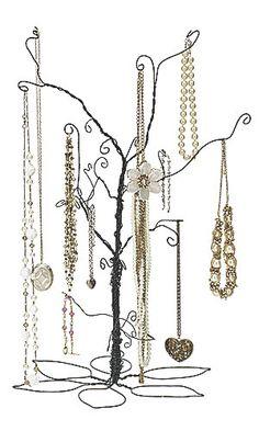 Large Wire Jewelry Tree