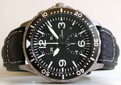 Sinn 757 Chronograph, made in Germand, powered by a Valjoux 7750 movement.