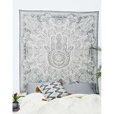 1 X Celestial Sun Moon Stars Tie Dye Tapestry, Hippie Hippy Wall Hanging, Indian Tapestry, Sun-moon Tapestry, Psychedelic Celestial Tapestry,
