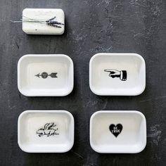 Soap Opera Dishes - Set of 4 | dotandbo.com