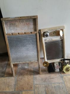 My washboards