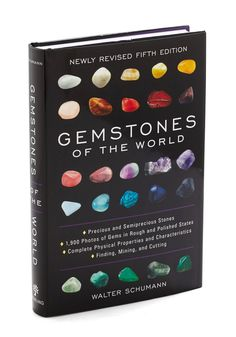 Gemstones of the World. Become a gem of an expert with this fascinatingly educational book. #multi #modcloth