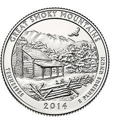 2014 Great Smoky Mountains National Park Quarter