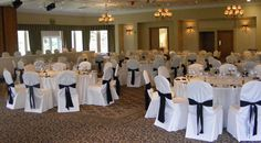 elegant wedding decorations for chairs - Google Search