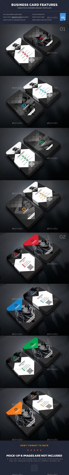 Orange Modern Abstract Business  Card Set  Eps Vector Design