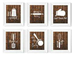 Check out our kitchen art selection for the very best in unique or custom, handmade pieces from our prints shops. Kitchen Prints, Kitchen Wall Art, Rustic Kitchen Decor, Country Kitchen, Cant Touch This, The Only Exception, Scandinavian Nursery, Bright, Kitchen Signs