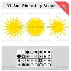 Free Photoshop Shapes (51)