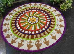 #RangoKiDiwali #AsianPaints #colours Made of Rice & flower & color
