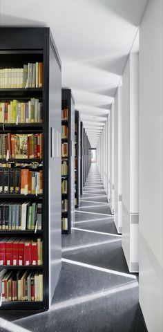 jacob and wilhelm grimm centre library - berlin germany - max dudler - photo by stefan müller Dream Home Design, House Design, Central Library, Dream Library, New Museum, Urban Planning, Architecture Photo, Berlin Germany, Architecture