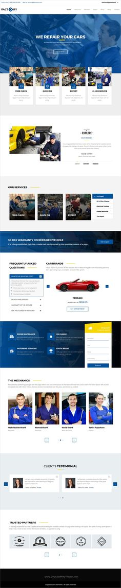 Factorian is a wonderful 5in1 responsive #WordPress theme for #auto #workshop #repair service websites download now➩ https://themeforest.net/item/factorian-responsive-multipurpose-business-wordpress-theme/18968629?ref=Datasata