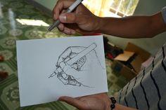 Teach Art to Vietnamese Youth