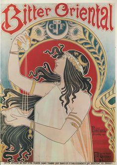 poster Bitter oriental abt 1900, via Flickr.
