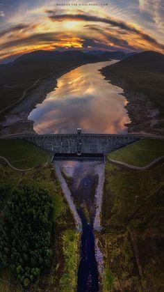 Glascarnoch Dam #3, Scotland