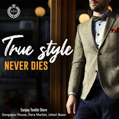 True Style Never Dies! #sanjaytextilestore #stsjaipur #menswear #suits #sherwani #kurta #designersuits #tuxedosuits #blazer #wedding #formal #dresses #groom #tailoring #stylish #ethnicwear #tshirts #jeans #jackets #weddingdress #weddingday #love #fashion #weddings #dress #weddingideas #style Sherwani, Formal Dresses, Wedding Dresses, Tuxedo, Weddingideas, Groom, Suit Jacket, Menswear, Textiles