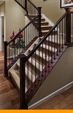 Best Stair Simple Axxys 8 Ft Stair Rail Kit Axhsr8B32I At The 400 x 300
