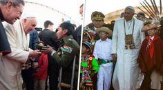 Los niños que conmovieron al Papa Francisco en su viaje a Sudamérica :: EWTN News