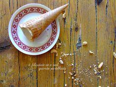 gelado de banana e manteiga de amendoim
