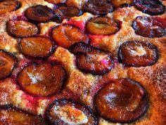 Szilvás lepény egyszerűen - Balkonada sütemény recept Winter Food, Pepperoni, Sausage, French Toast, Brunch, Food And Drink, Pizza, Breakfast, Ethnic Recipes