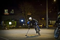 Bike polo has quite a following in Seattle. More photos: http://bit.ly/yW56CD.