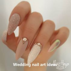 Nail Art Ideas Paint your nails white for the base. Once it dries, use the nail stripes to create the Purple stripes Picture Credit : Nail Art Ideas Paint your nails white for the base. Once it dries, use the nail stripes to create the P Ongles Bling Bling, Bling Nails, Stiletto Nails, Rhinestone Nails, Glitter Nails, Rhinestone Nail Designs, Jewel Nails, Sand Nails, Gold Acrylic Nails