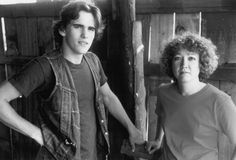 Still of Matt Dillon and S.E. Hinton in Tex