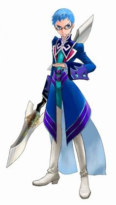 Hubert Ozwell - Tales of Graces - Love his uniform