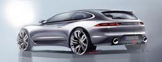 Random Porsche on Behance