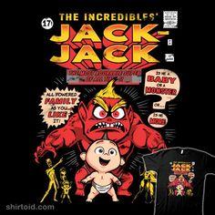 The Adorable Super | Shirtoid #comic #comics #film #jackjackparr #movies #primepremne #theincrediblehulk #theincredibles