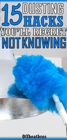Dusting is a vital part of your cleaning routine but it's not easy to dust your home. Thankfully, there are some dusting hacks that make dusting easy. So, if you want a clean home free of dust fast, then these dusting tips are a must know for you. So glad Cleaning Dust, Household Cleaning Tips, Deep Cleaning Tips, House Cleaning Tips, Diy Cleaning Products, Spring Cleaning, Cleaning Solutions, Bathroom Cleaning Hacks, Bathroom Organization