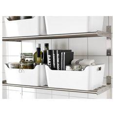 VARIERA kutu, beyaz, 34x14x24 cm | IKEA