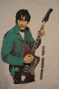 jackson browne 83 tour shirt