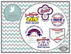 Baseball Softball Mom Home LL108 - Vector Art - Cutting File - Graphic Design…