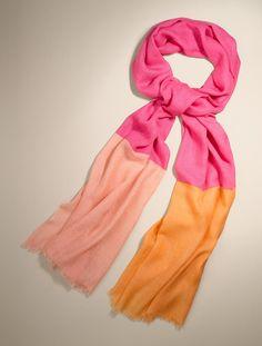 Talbots - Colorblocked Scarf | Scarves - on sale too