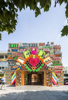 Temple of Agape / Morag Myerscough + Luke Morgan