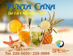 Qué esperas para separar tu cupo en Días Patrios en Punta Cana del 3 al 6 de noviembre?  Tenemos planes con todo incluido desde $1090 por persona.  Llama al 226-5650 @viajesspepanama  #YoViajoconSPE