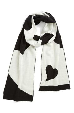 We 'heart' this scarf.