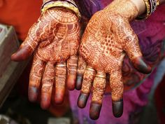 Henna Hands, India.