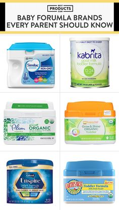 9 Best Baby Formulas You Should Know About Now - Exclusively nursing is simply . - 9 Best Baby Formulas You Should Know About Now – Exclusively nursing is simply not a reality for - Baby Formula Cans, Formula Milk, Organic Formula, Best Formula For Newborns, Best Baby Formula, Infant Formula, Formula Feeding Chart, Baby Feeding Chart, Baby Bottle Storage