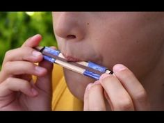 How To Make A Popsicle Stick Harmonica. (Full HD) - YouTube