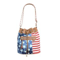 Stars and Stripes Crossbody Bag (4th of July outfit) #teens