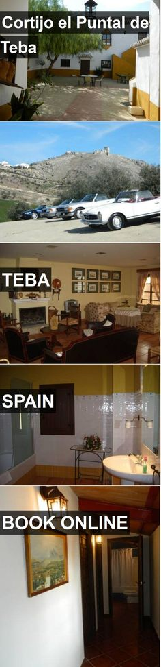 Hotel Cortijo el Puntal de Teba in Teba, Spain. For more information, photos, reviews and best prices please follow the link. #Spain #Teba #CortijoelPuntaldeTeba #hotel #travel #vacation