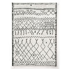 Afaw Berber Style Rug La Redoute Interieurs The rug to end all rug searches, the Afaw adds impeccable style to any room and every space. We call it THE La Redoute Rug as its one of our most. Rattan Lampe, Black White Rug, Shaggy Rug, 230, Berber Rug, Cool Rugs, Weaving Techniques, Neutral Colors, Trendy Colors