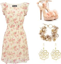 """""""Tea party outfit :)"""" by f-a-sh-io-n ❤ liked on Polyvore"""